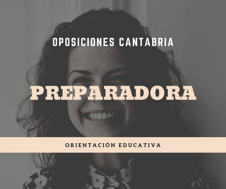 1-7 Preparador oposiciones Orientador Educativo Cantabria
