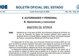 reanudacion-plazos-administrativos-oposicion-escala-basica-policia-nacional Preparación pruebas fisicas policia nacional