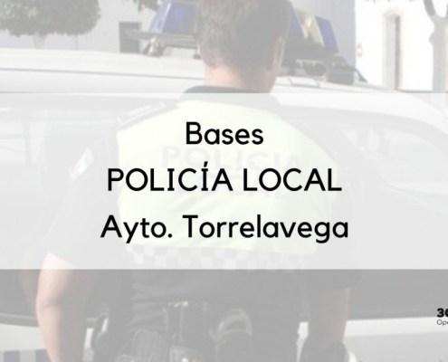 Bases de la oposicion Policia Local Torrelavega