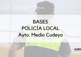 Bases-oposicion-Policia-Local-Medio-Cudeyo Nuevo plazo inscripcion oposicion Auxiliares Policia Local Ribamontan al Mar