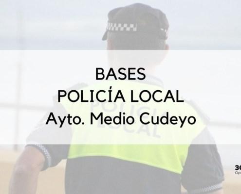 Bases oposicion Policia Local Medio Cudeyo