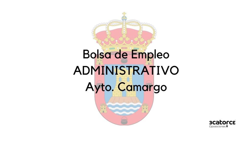 Convocatoria-bolsa-Administrativo-Camargo Convocatoria bolsa Administrativo Camargo