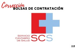 Correccion-errores-listas-definitivas-bolsas-Servicio-Cantabro-de-Salud Convocadas Oposiciones Servicio Cantabro de Salud OPE 2016
