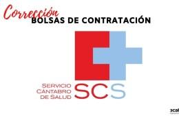 Correccion-errores-listas-definitivas-bolsas-Servicio-Cantabro-de-Salud Correccion errores lista admitidos oposicion Auxiliar Administrativo SCS