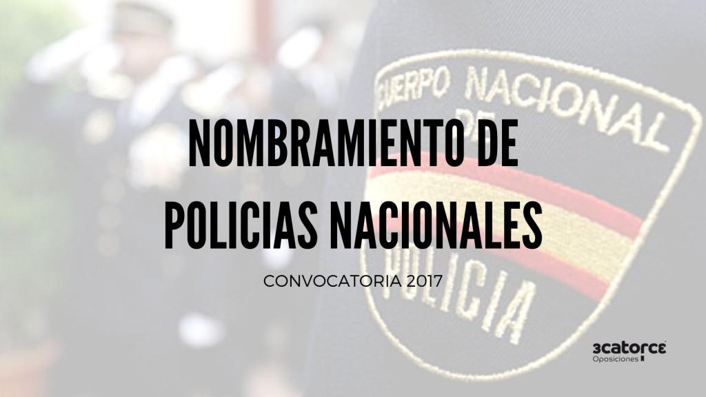 Nuevos-nombramientos-Policia-Nacional-como-funcionarios-de-carrera Nuevos nombramientos Policia Nacional como funcionarios de carrera