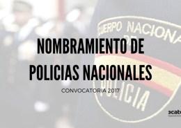 Nuevos-nombramientos-Policia-Nacional-como-funcionarios-de-carrera Preparador Policia Nacional
