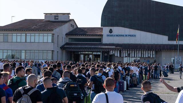 Vuelven-los-alumnos-a-la-academia-Policia-Nacional-para-finalizar-el-curso Vuelven los alumnos a la academia Policia Nacional para finalizar el curso
