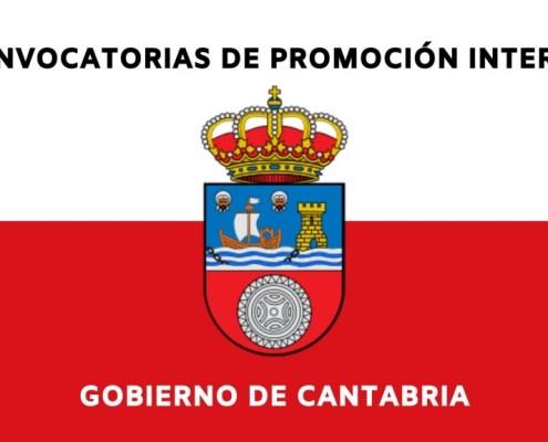 Convocadas diferentes oposiciones promocion interna Cantabria