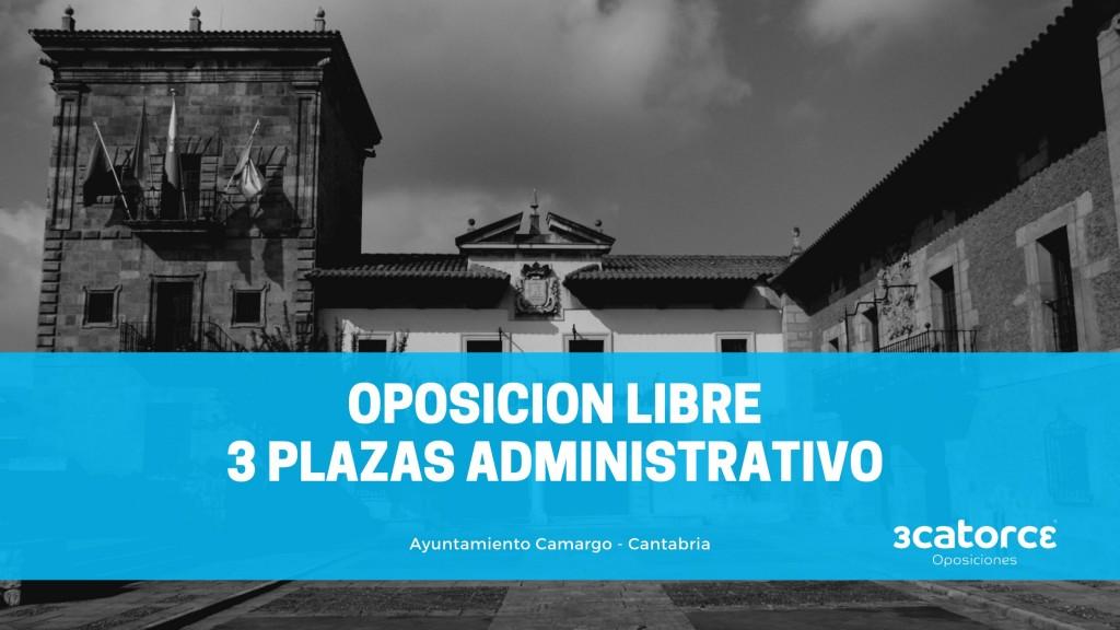 Ayuntamiento-Camargo-Cantabria-1 Publicada en el BOE la convocatoria Administrativo Ayuntamiento Camargo Cantabria