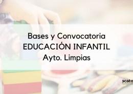 Bases-y-convocatoria-Educacion-Infantil-Limpias Agotada bolsa secundaria en CLM se busca urgentemente profesores