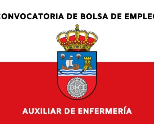 Publicada en el BOC la convocatoria bolsa de empleo auxiliar enfermeria Cantabria