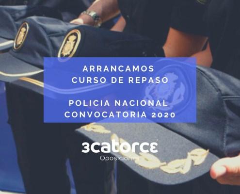 Curso Repaso oposiciones policia nacional Escala Basica CNP