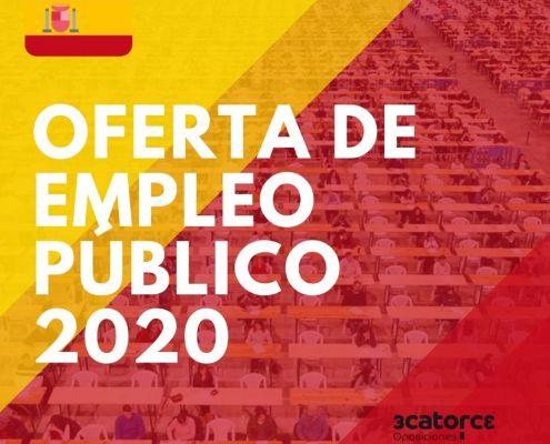 Publicada en el BOE la oferta empleo publico 2020 Estado