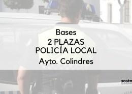 Publicadas-las-bases-para-la-cobertura-de-2-plazas-policia-local-Colindres Abierto plazo solicitudes en Reinosa para Oposicion Policia Local Cantabria
