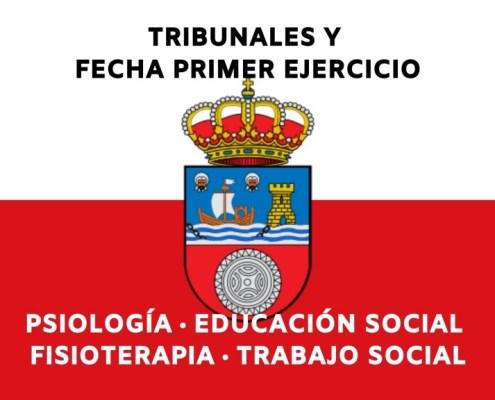 Publicado en el BOC los tribunales y fecha primer examen oposiciones Gobierno de Cantabria psicologia fisioterapia trabajo social y educador social