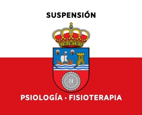 Suspension examenes psicologia fisioterapia Cantabria 2020
