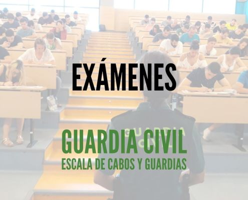 modelos examenes guardia civil 2020