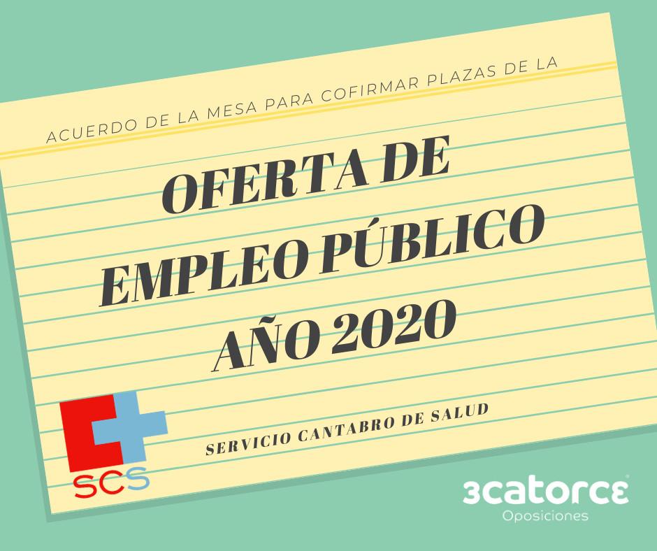 plazas-OPE-Servicio-Cantabro-de-Salud-2020 Confirmadas plazas OPE Servicio Cantabro de Salud 2020