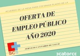 plazas-OPE-Servicio-Cantabro-de-Salud-2020 Publicada la lista definitiva bolsa contratacion SCS