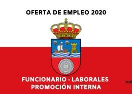 Plazas-OPE-Cantabria-2020 Bolsa Auxiliar Administrativo Comillas 2019