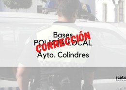 Correccion-de-las-bases-oposicion-policia-local-Colindres Test Policia local santander
