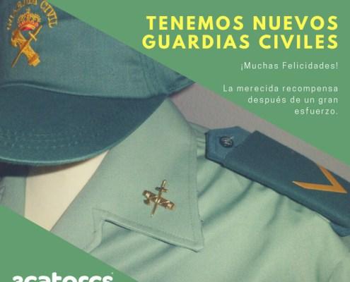 Ingreso en academia alumnos Guardia Civil Oposicion 2020