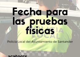 Publicada-la-fecha-pruebas-fisicas-policia-local-Santander Curso Intensivo oposiciones policia local Santander