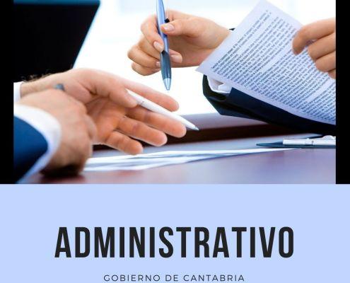 curso oposicion administrativo cantabria 2021 2022