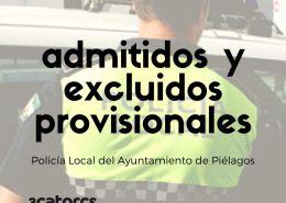 lista-provisional-admitidos-policia-local-Pielagos-Cantabria Nuevos agentes Policia Local Laredo tras catorce años sin oposiciones