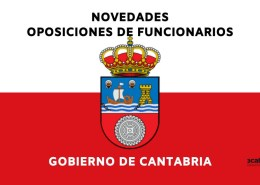 Novedades-Oposiciones-Gobierno-de-Cantabria-2021 Seis nuevas plazas informatica Santander