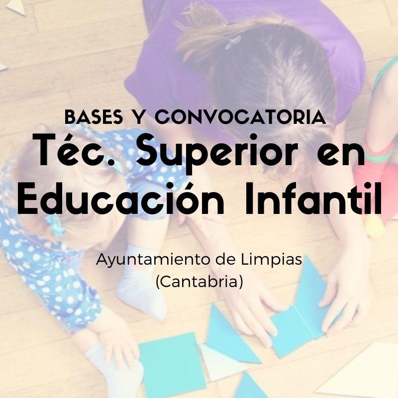 Proceso-selectivo-para-la-contratacion-temporal-tecnico-educacion-infantil-Cantabria-Limpias tecnico educacion infantil Cantabria Limpias