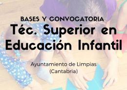 Proceso-selectivo-para-la-contratacion-temporal-tecnico-educacion-infantil-Cantabria-Limpias Seis nuevas plazas informatica Santander