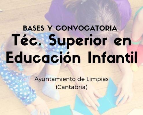 Proceso selectivo para la contratacion temporal tecnico educacion infantil Cantabria Limpias