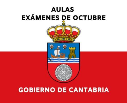 examenes oposiciones Gobierno de Cantabria de octubre