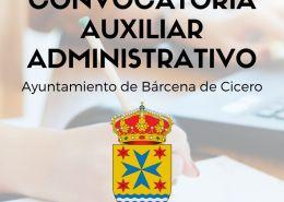 convocatoria-auxiliar-administrativo-Cantabria-1-plaza-en-Barcena-de-Cicero Curso Online oposiciones Auxiliar Administrativo Cantabria 2019