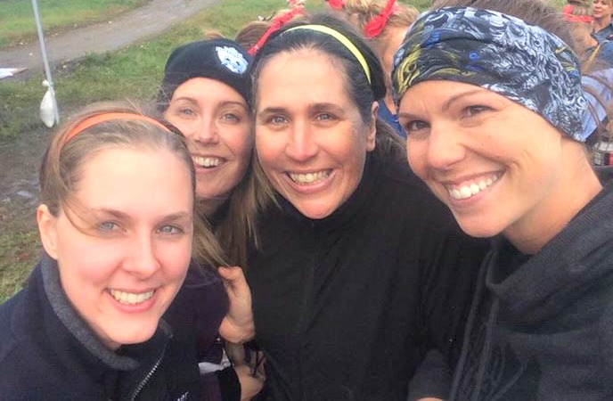 Mudderella whistler, mudderella 2015, julie nowel, christine nielsen, hillary with 2 ls', nicki scott, slow is the new fast, whine and cheese, 3 chickens and a boat