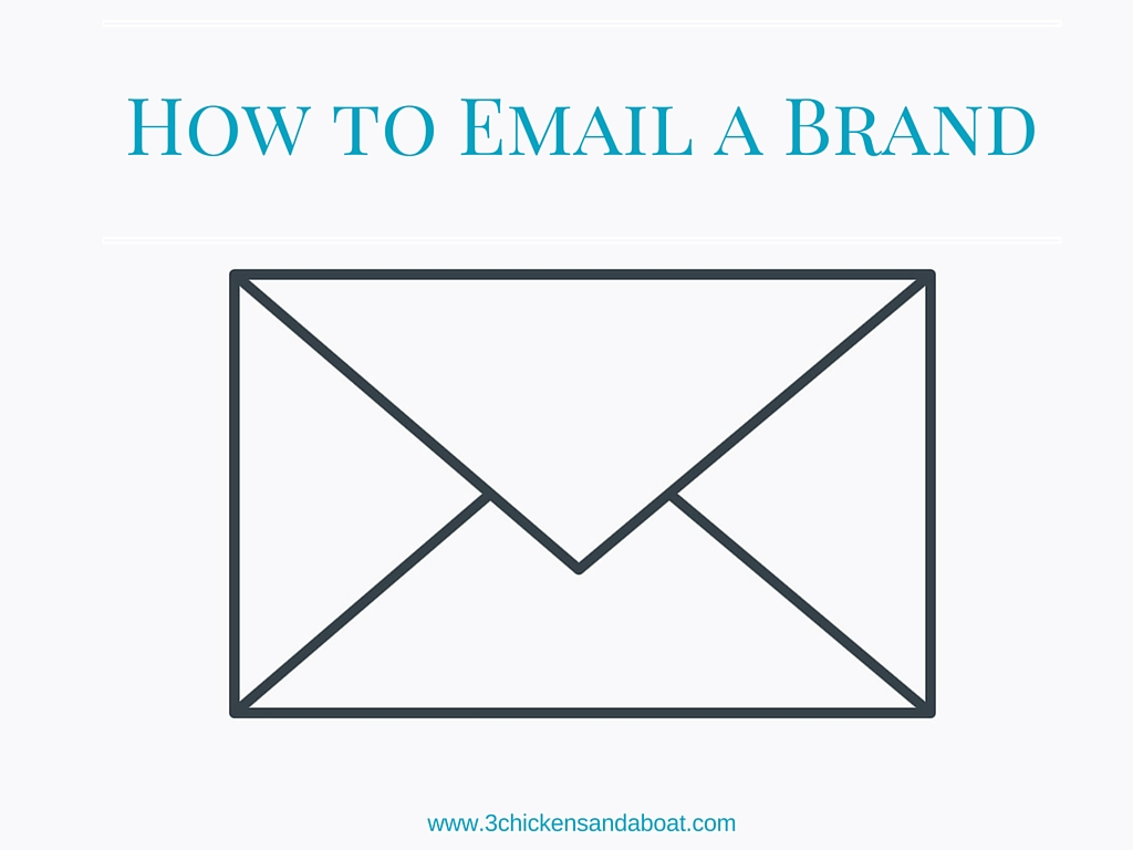 How To Write an Email to a Brand