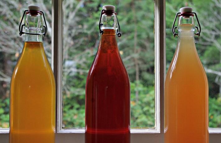 how to make fruit liqueur, what to do with leftover plums, plum recipes, peach liqueur, pear liqueur, homemade liqueur
