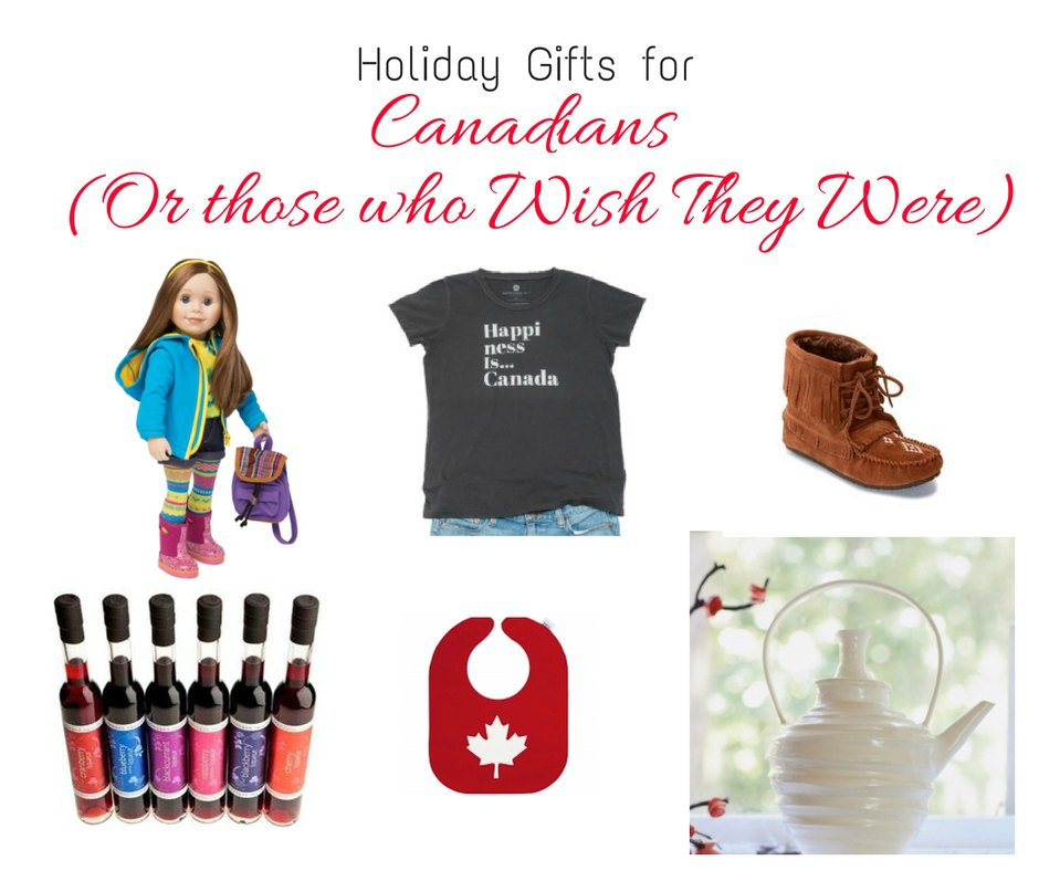 gifts made in canada, gifts from canadian companies