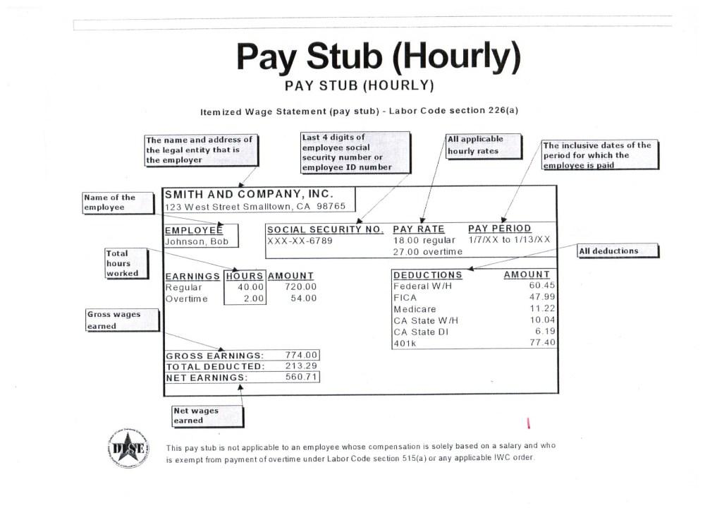 medium resolution of pay stub information