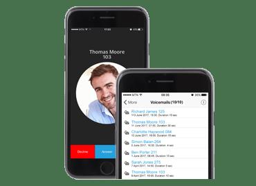 VoIP-clients voor Android en iOS