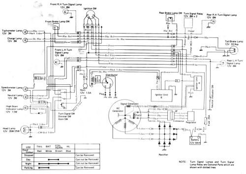 small resolution of triple maintenance manual kawasaki h1 500 wiring diagram kawasaki h1d wiring diagram