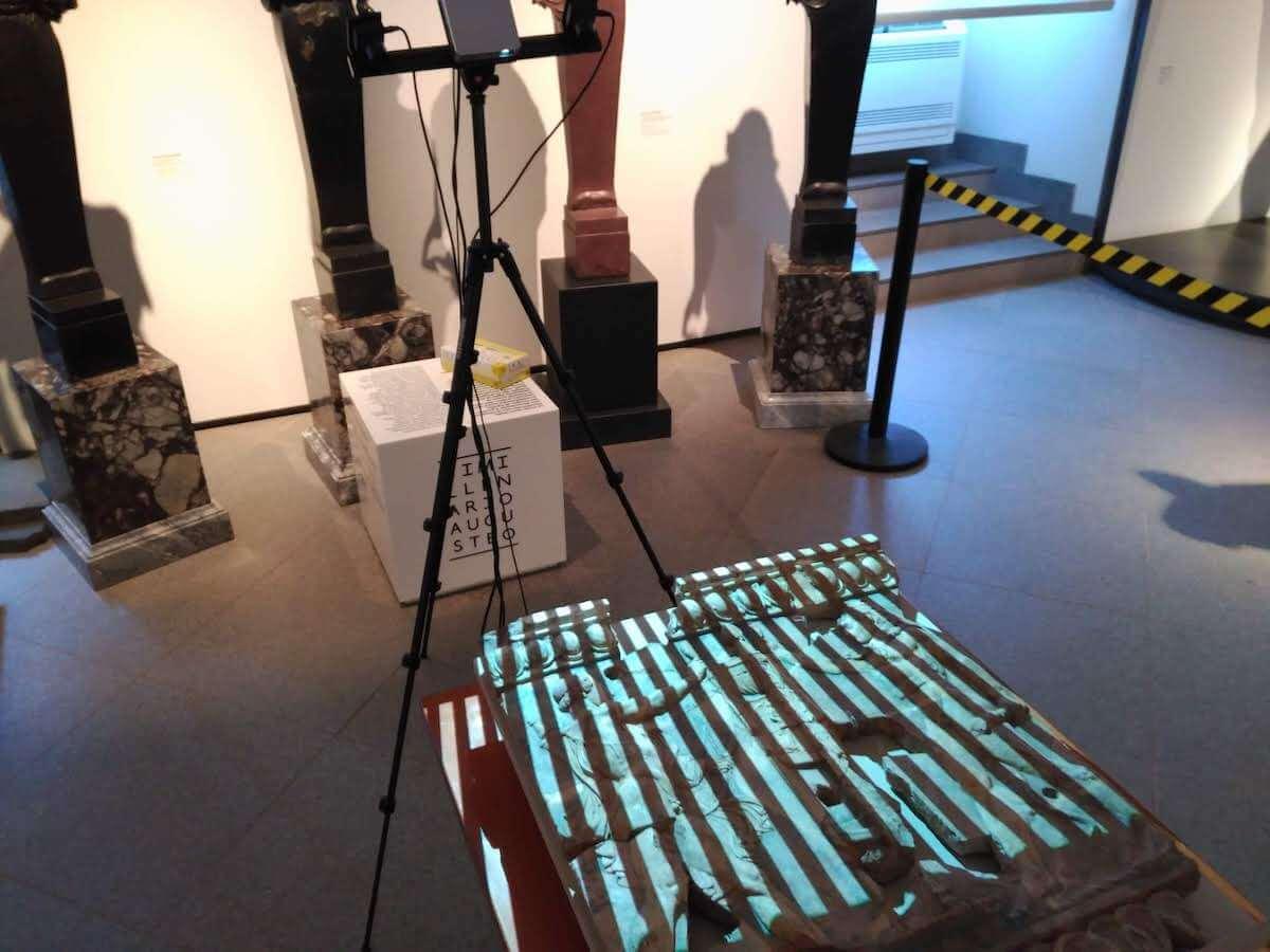 Rilievo 3D scanner 3D luce strutturata