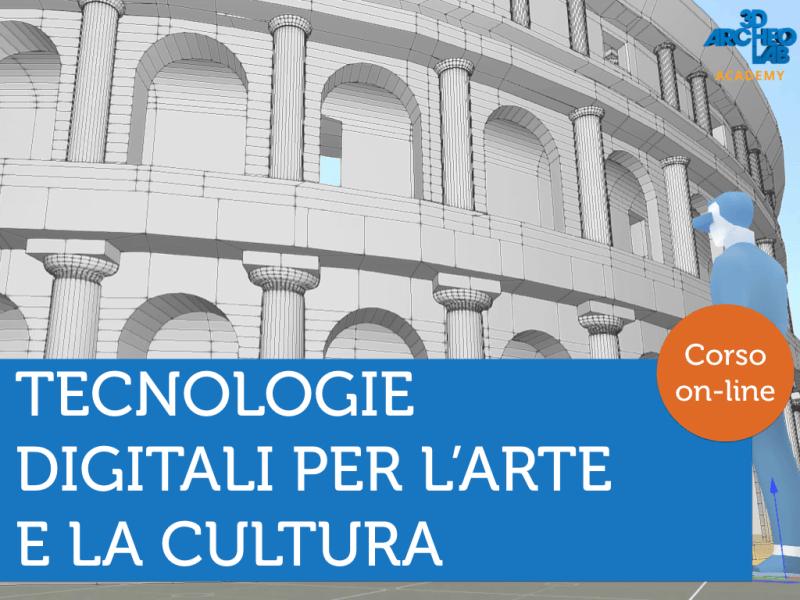 corso tecnologie digitali arte e cultura