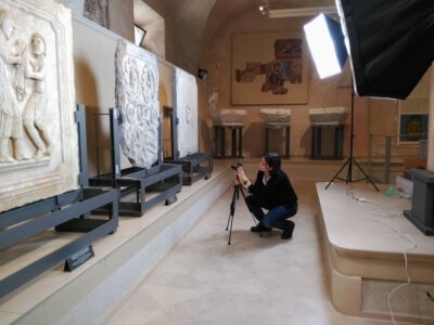 Rilievo 3D fotogrammetria arte
