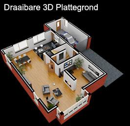 Plattegrond maken  3D Plattegrond en interieur impressie