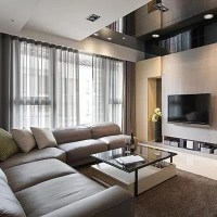 Simple Japan South Korea Style Living Room Interior ...
