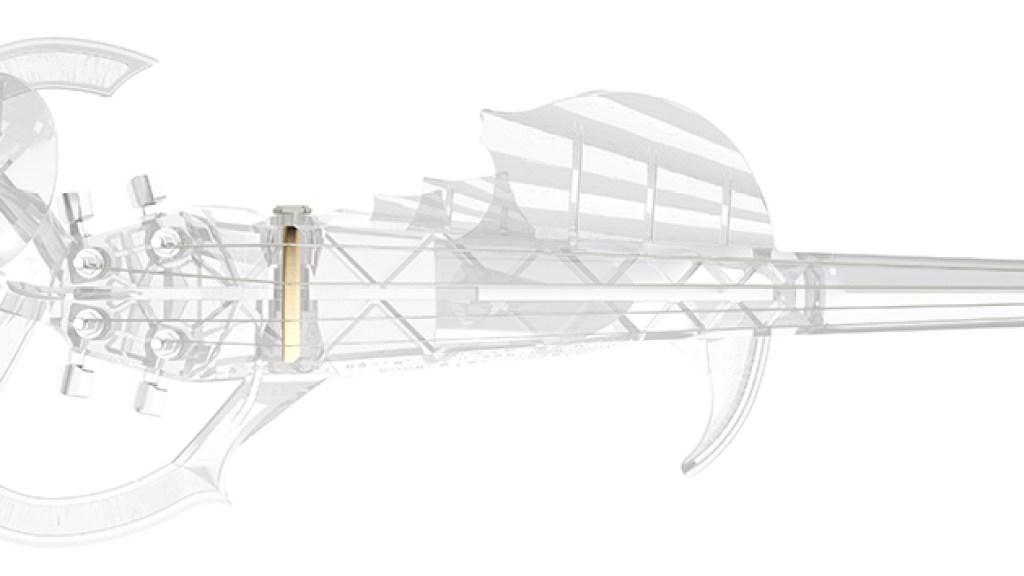 3Dvarius violín impreso en 3D
