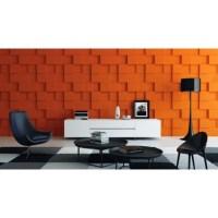 Rubik - Gypsum plaster 3D wall panels