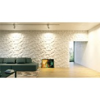 Quadrat - Gypsum plaster 3D wall panels